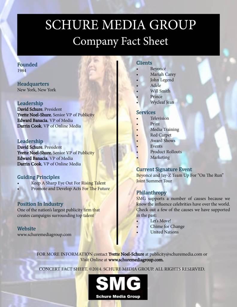 Shure Media Fact Sheet